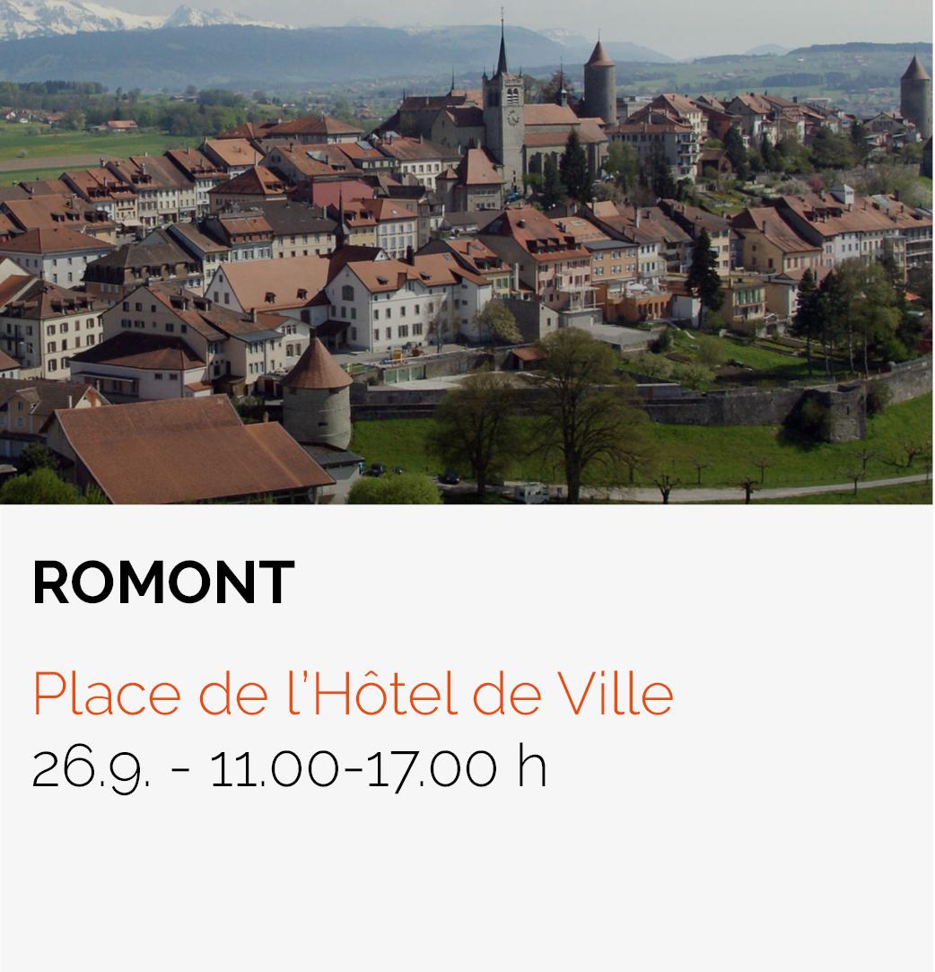 Date Roadtrip HFR - Romont