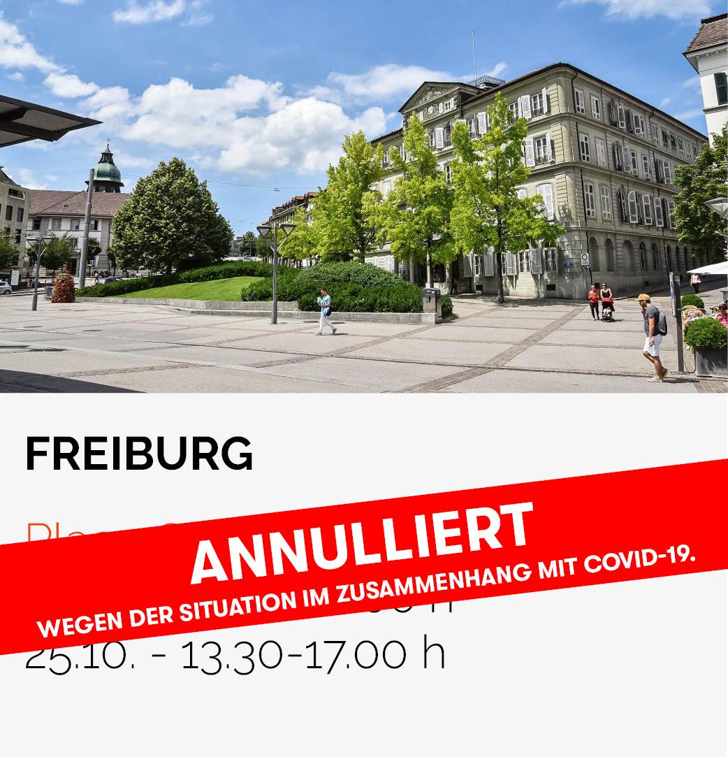 Date Roadtrip HFR - Freiburg Place Georges-Python